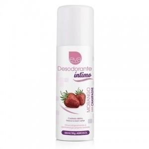 Desodorante Íntimo Feminino - Morango com Champanhe 66ml