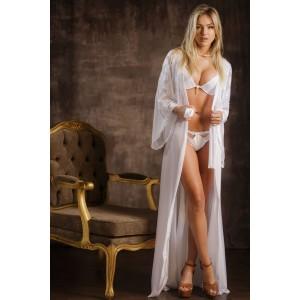 Robe feminino longo em renda Rute
